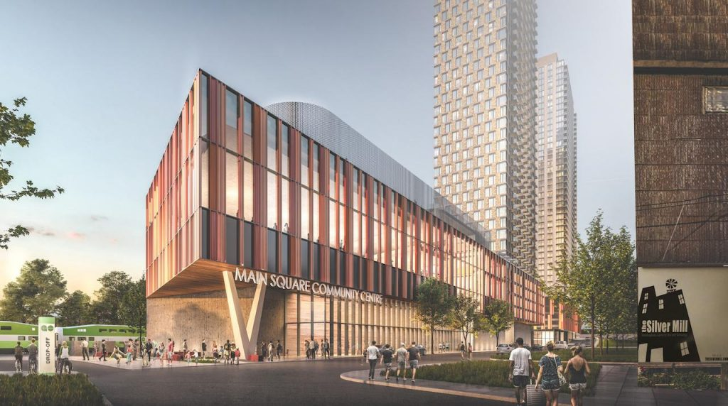 Looking southwest to 6 Dawes Road, image via submission to City of Toronto